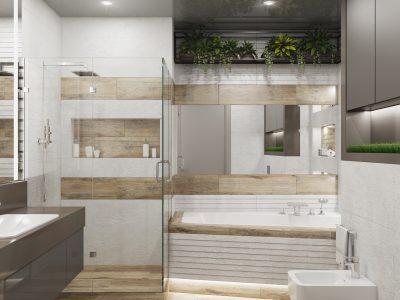 ванная 2 этаж