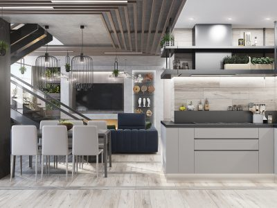 Кухня-гостиная (4)